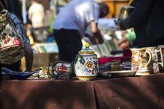 Feira da ladra Bruxelas Fotos de Stock