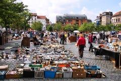 Feira da ladra de Bruxelas Imagem de Stock Royalty Free