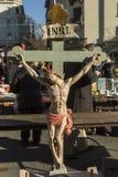 Feira da ladra de Zagreb domingo Imagem de Stock
