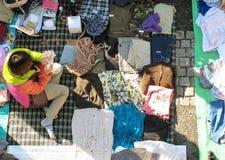 Feira da ladra em Harajuku Japão Imagem de Stock Royalty Free
