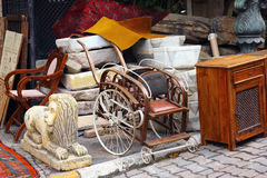 Feira da ladra em Instanbul, Cucurcuma Fotos de Stock