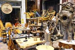 Feira da ladra em Instanbul, Cucurcuma Foto de Stock