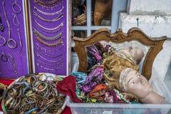 Feira DA Ladra en Lisboa Portugal fotos de archivo libres de regalías