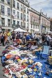 Feira DA Ladra en Lisboa Portugal fotografía de archivo