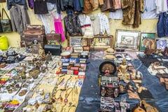 Feira DA Ladra en Lisboa Portugal fotografía de archivo libre de regalías