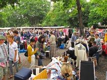 Feira da ladra Mauerpark, Berlim Fotos de Stock Royalty Free
