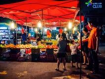 Feira da ladra da noite Imagens de Stock