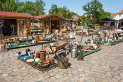 Feira da ladra, Ruegenhof em Kap Arkona Fotografia de Stock Royalty Free