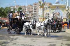 A feira de abril de Sevilha Fotografia de Stock Royalty Free