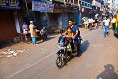 A feira de Chawri é um mercado por atacado especializado do bronze, cobre Fotografia de Stock