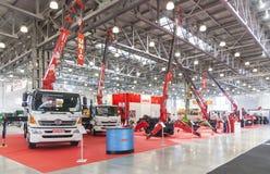 Feira de comércio internacional do equipamento e das tecnologias de construção Fotografia de Stock Royalty Free