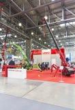 Feira de comércio internacional do equipamento e das tecnologias de construção Imagens de Stock Royalty Free