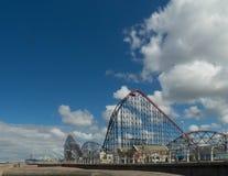 Feira de divertimento de Blackpool foto de stock royalty free