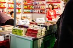 Feira de livro de Gaudeamus, Bucareste, Romênia 2014 Fotografia de Stock Royalty Free