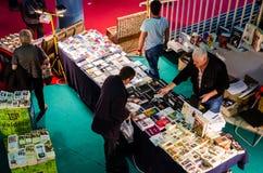 Feira de livro de Gaudeamus, Bucareste, Romênia 2014 Foto de Stock