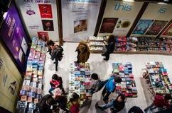 Feira de livro de Gaudeamus, Bucareste, Romênia 2014 Imagem de Stock Royalty Free