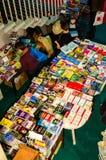 Feira de livro de Gaudeamus, Bucareste, Romênia 2014 Fotografia de Stock