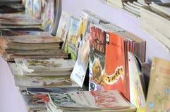 Feira de livro em Kolkata. Fotos de Stock Royalty Free