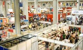 Feira de livro internacional 2012 - Turin Fotos de Stock Royalty Free