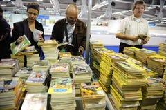 Feira de livro internacional de Belgrado fotografia de stock royalty free