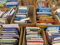 Feira de livros em Tangerang Fotografia de Stock