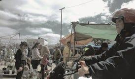 Feira de Piedras Blancas fotos de stock royalty free