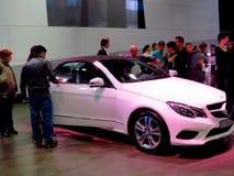 Feira em Corferias A sala de exposição do carro igualmente conhecida como o ` de del automovil do salão de beleza do ` onde os vi Imagens de Stock