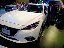 Feira em Corferias A sala de exposição do carro igualmente conhecida como o ` de del automovil do salão de beleza do ` onde os vi Fotos de Stock