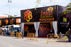 Feira enchidos Monchique  2013  Royalty Free Stock Image