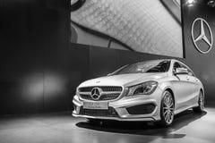Feiras automóveis de Mercedes-Benz fotografia de stock royalty free