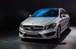 Feiras automóveis de Mercedes-Benz fotos de stock royalty free