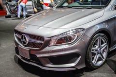 Feiras automóveis de Mercedes-Benz fotografia de stock