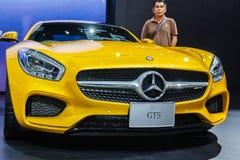 Feiras automóveis de Mercedes-Benz imagens de stock