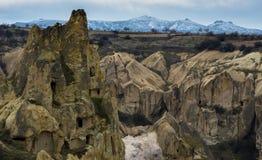 Feitiçaria Cappadocia, Turquia Imagens de Stock