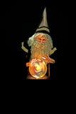 Feiticeiro e esfera olhar Fotografia de Stock Royalty Free