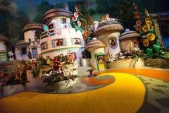 Feiticeiro onça Munchkinland do mundo de Disney Foto de Stock