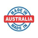 Feito em Austrália Imagem de Stock Royalty Free