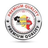 Feito em Bélgica, qualidade superior ilustração do vetor