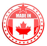 Feito em Canadá Foto de Stock Royalty Free