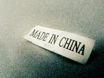 Feito em China Fotos de Stock