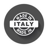 Feito em Italy Imagem de Stock
