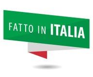 Feito em Italy Imagens de Stock Royalty Free