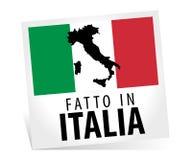 Feito em Italy Foto de Stock Royalty Free
