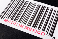 Feito em México imagem de stock royalty free