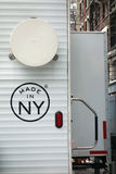 Feito em NY Fotografia de Stock