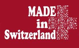Feito em switzerland Fotografia de Stock Royalty Free