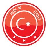 Feito em Turquia ilustração stock