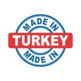 Feito em Turquia ilustração do vetor