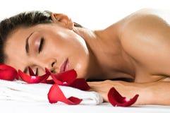 Feito massagens Fotos de Stock Royalty Free