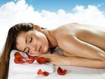 Feito massagens Fotografia de Stock Royalty Free